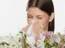 Sneezing is a common sign of allergies