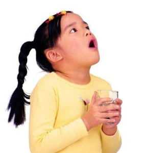 Rinsing your throat with saline water may help relief sore throat
