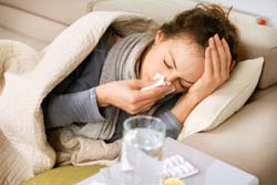 Meningitis can cause high fever