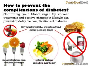 How to prevent complication of diabetes