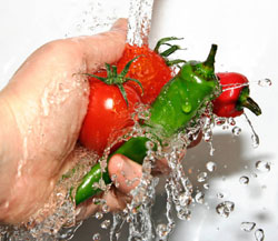 Vegetable wash the right way