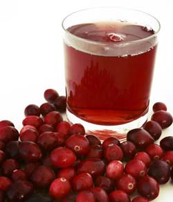 Cranberry juice can help remedy bladder infection